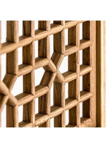 Vitrina dos módulos con persiana Suspirarte