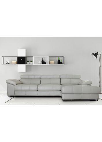 sofa chaise piel titan losbu