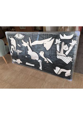 cuadro gernika pintura al oleo original