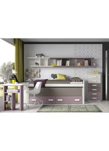 dormitorios juveniles glicerio