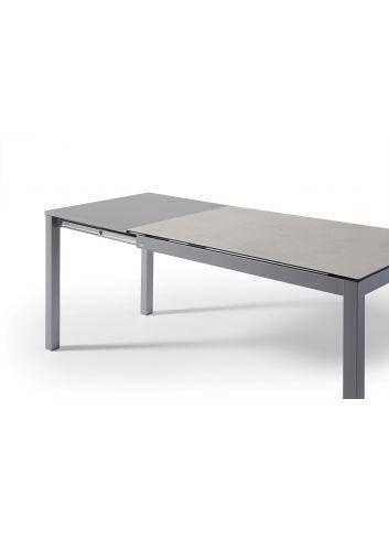mesa cocina extensible porcelanico