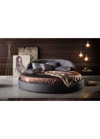 cama redonda tapizada