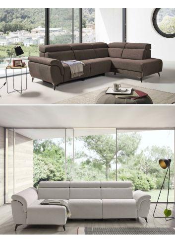 sofa chaise long terminal ta-quatro asientos relax.