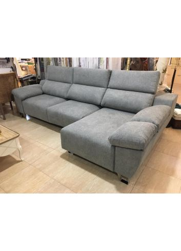 sofa pata alta extensible carro