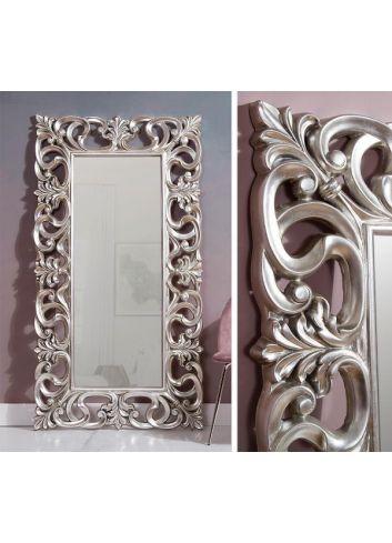 Espejo vestidor barroco plata