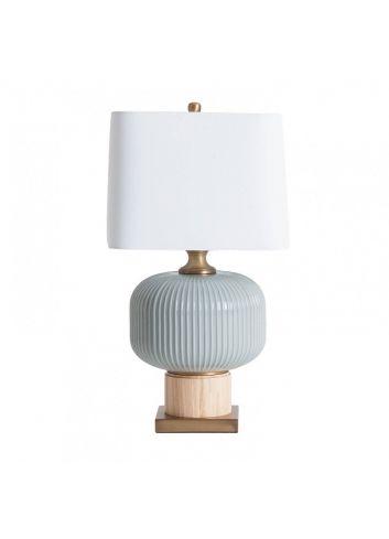 Lámpara cerámica y oro vical